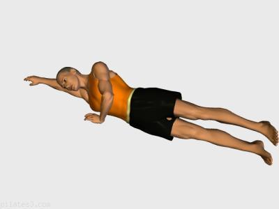 Patada lateral. Ejercicio de pilates recomendado para:  intermedios,  expertos.